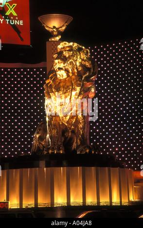 MGM-Löwen Las Vegas - Stockfoto