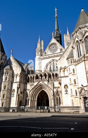Royal Courts of Justice, London, Vereinigtes Königreich - Stockfoto