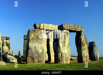 Stonehenge Wiltshire England - Stockfoto