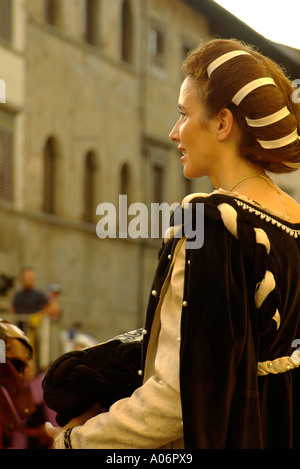 Sansepolcro Balestra 2005 - Stockfoto