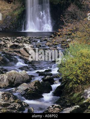 Thornton Force Wasserfall, Ingleton, North Yorkshire National Park - Stockfoto