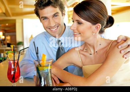 Hotel bar flirten
