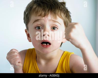 wütende junge - Stockfoto