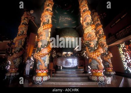Cao Dai Tempel in Tay Ninh, Vietnam - Stockfoto