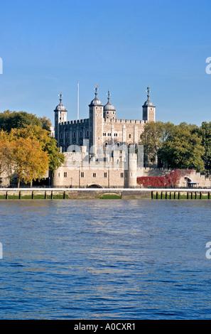 Der Tower of London, Vereinigtes Königreich - Stockfoto