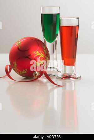 Stillleben mit festlichen Getränke - Stockfoto