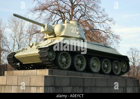 Sowjetischer Krieg-Denkmal, Tiergarten, Berlin - Stockfoto