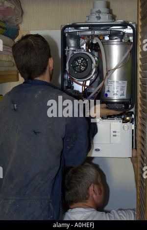 Gemütlich Kombikessel Installation Fotos - Die Besten Elektrischen ...