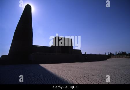 Emin Minarett Turpan Xinjiang Provinz China - Stockfoto
