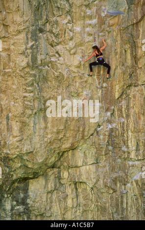 Kletterer ruhen - Stockfoto