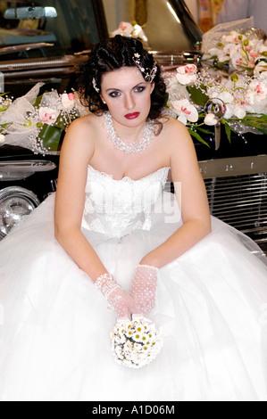 Einsame Braut - Stockfoto