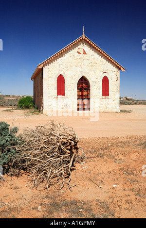 Historic Evangelisch-methodistische Kirche erbaut 1885 Silverton in der Nähe von Broken Hill New South Wales Australien - Stockfoto