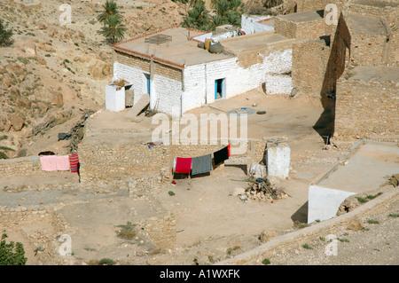 Toujane Bergdorf in Tunesien - Stockfoto