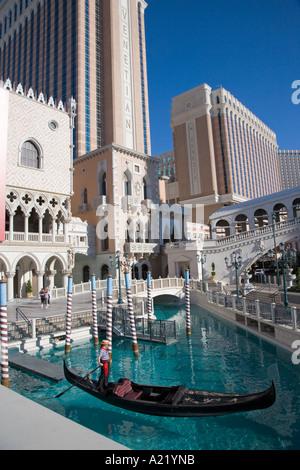 Das Venetian Las Vegas Nevada USA Editorial verwenden nur - Stockfoto