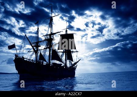 James cook s schiff endeavour cowes isle of wight england for Designermobel nachbau england