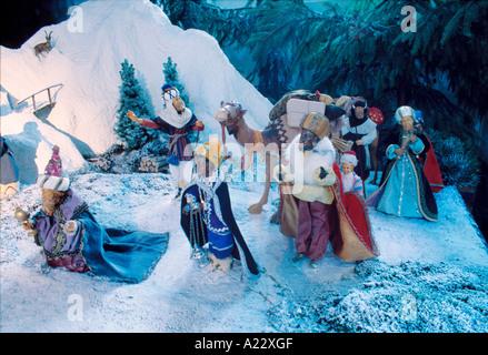 Geburt Christi - Stockfoto