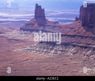 Candlestick Tower Island in den Himmel Canyonlands National Park Utah USA - Stockfoto