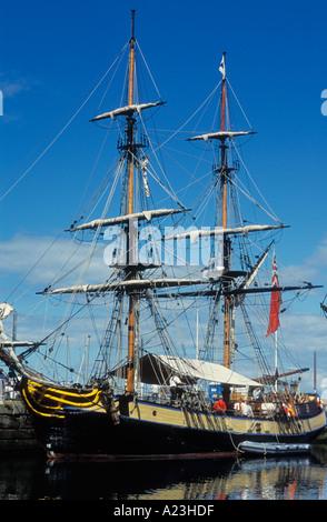 Gro segler im hafen von whitehaven festival von for Designermobel nachbau england