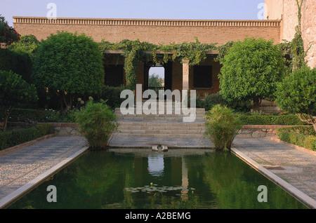 Blick auf die Festung Alcazaba Almería Almeria Andalusien Andalusien España Spanien Iberia Europa - Stockfoto