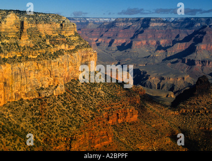 USA Arizona Grand-Canyon-Nationalpark aus der South Rim-Erosion - Stockfoto