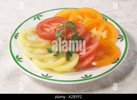 Tomaten-Platte - Stockfoto