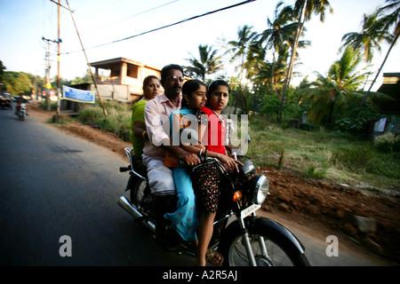 Bilder aus Indien der örtlichen Straßen und Farbe. - Stockfoto