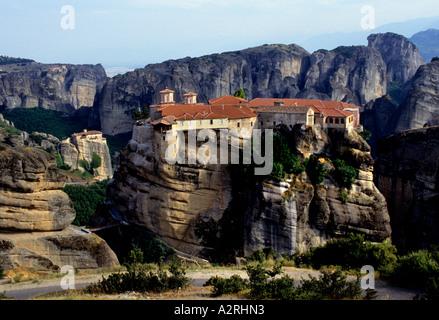 Vaarlam Kloster Meteora Klöster Mazedonien Griechenland - Stockfoto