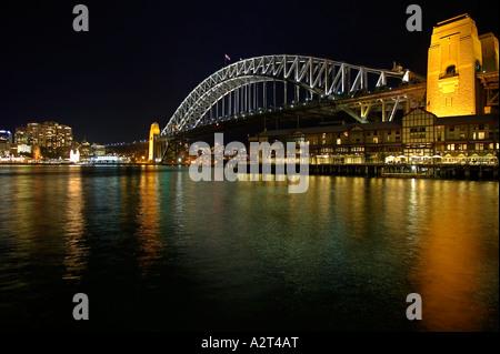 Australien Sydney Harbour Bridge - Stockfoto