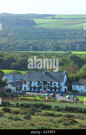 King Arthur Hotel Reynoldston Gower Südwales - Stockfoto