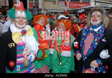 Jecken in Köln - Stockfoto