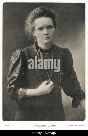 Marie-Curie-Foto - Stockfoto