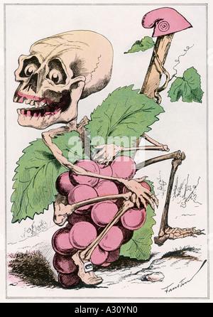 Blutige Ernte 1870 - Stockfoto