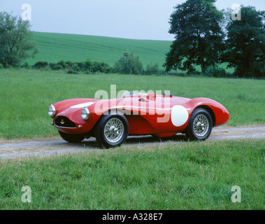 1955 Aston Martin DB3s - Stockfoto