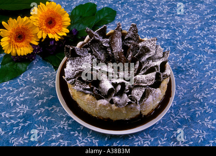 Charlotte Au Chocolat Lady Finger Kuchen Mit Mousse Au Chocolat