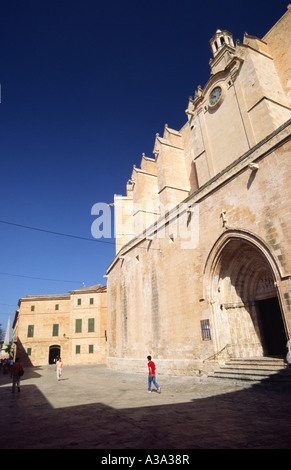 Kathedrale - Ciutadella, Menorca, Spanien - Stockfoto