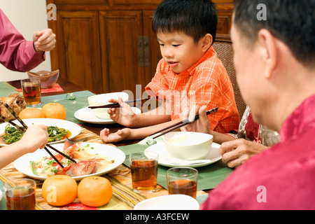 asiatische senioren familie stockfoto bild 169713949 alamy. Black Bedroom Furniture Sets. Home Design Ideas