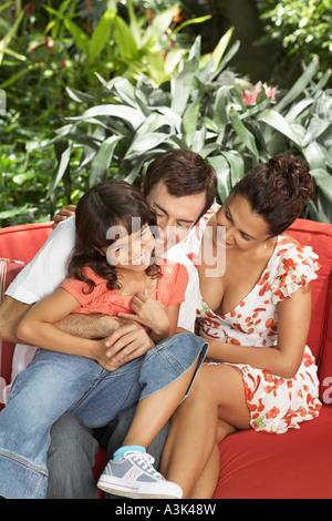 Family Portrait - Stockfoto