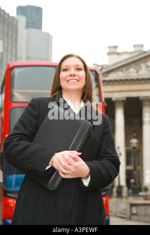 London Business-Frau - Stockfoto