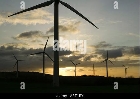 Windpark in Workington, Cumbria, UK - Stockfoto