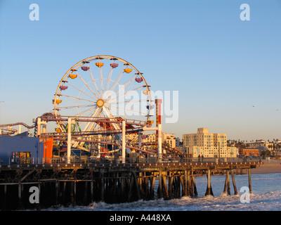 Santa Monica Pier - Stockfoto