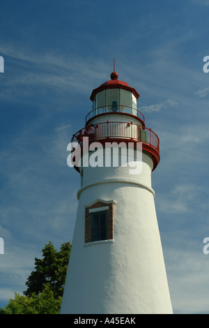 AJD57740, Marblehead, OH, Ohio, Lake Erie, Marblehead Leuchtturm State Park - Stockfoto