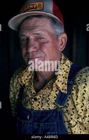 Porträt der Knecht in Iowa Usa 1992 - Stockfoto