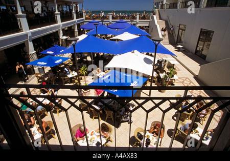 Restaurant St. Kilda Beach Melbourne Port Phillip Bay Victoria Australien horizontal - Stockfoto