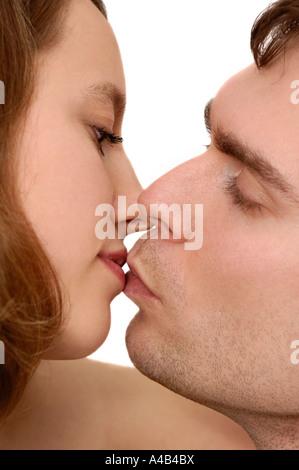 Romantische junges Paar - Stockfoto
