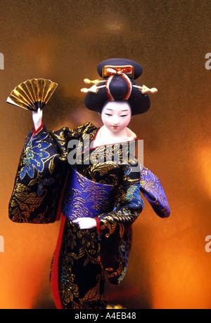 Geisha Puppe Japan - Stockfoto