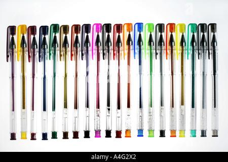 DEU-Deutschland-farbige Kugelschreiber - Stockfoto