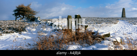 Captain Cooks Monument North Yorkshire Moor, North Yorkshire, England - Stockfoto