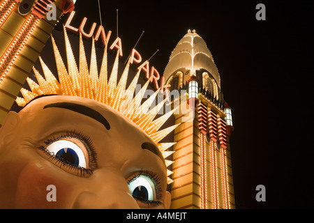 Luna Park - Sydney, New South Wales Australien - Stockfoto