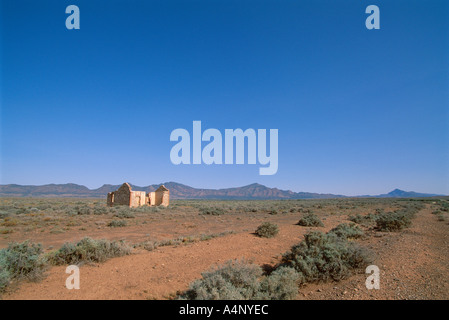 Verlassene Siedler Hütte Flinders Range-Süd-Australien-Australien-Pazifik - Stockfoto