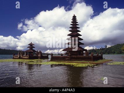 Ulun Danu Tempel in Bali Indonesien - Stockfoto